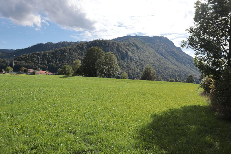Herrlicher Blick auf die Bergregion