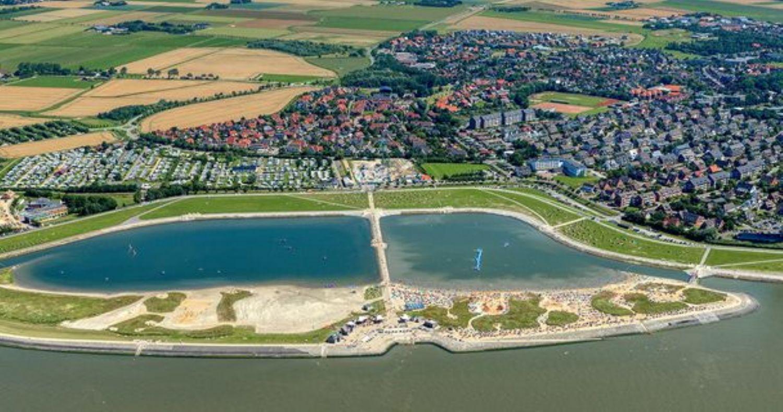 Touristenstadt Büsum mit Hafen, ca. 20 Minuten entfernt