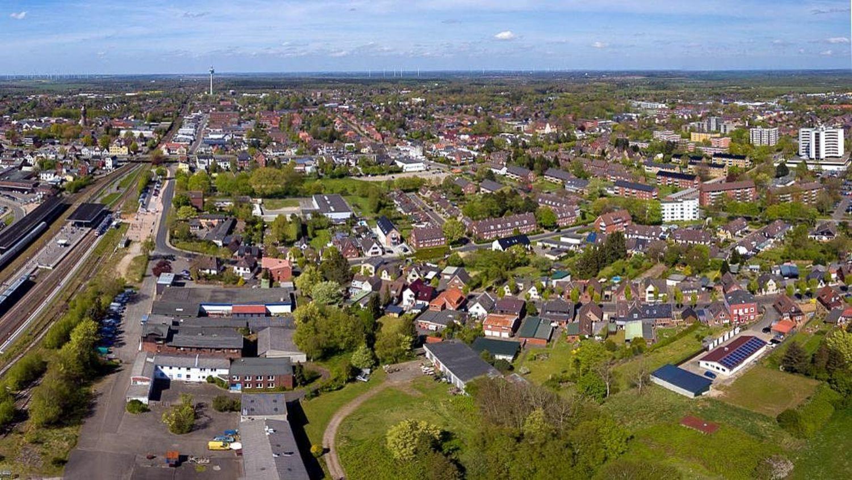 Kreisstadt Heide, moderner Hochschul- und Dienstleistungsstandort
